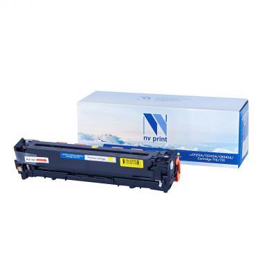 Картридж NVP совместимый NV-CF212A/CE322A/CB542A/NV-716/731 для HP и Canon, желтый [NV-CF212A/CE322A/CB542A]