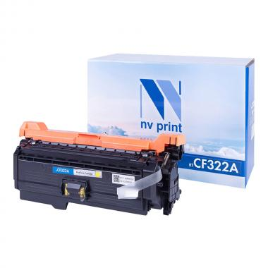 Картридж NVP совместимый NV-CF322A для HP, желтый [NV-CF322AY]