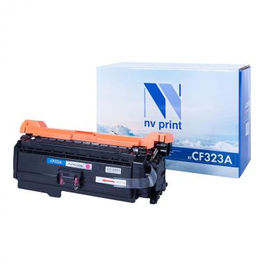 Картридж NVP совместимый NV-CF323A для HP, пурпурный [NV-CF323AM]