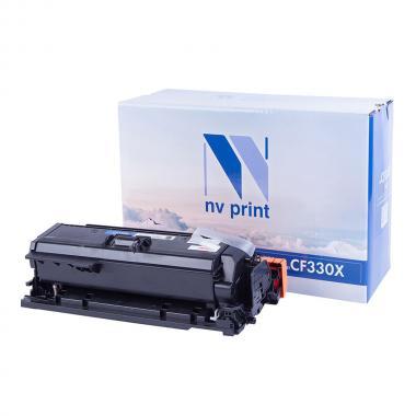Картридж NVP совместимый NV-CF330X для HP, черный [NV-CF330XBk]