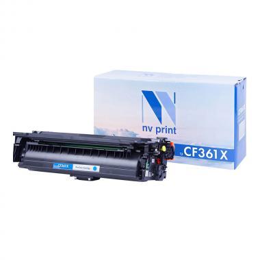 Картридж NVP совместимый NV-CF361X для HP, голубой [NV-CF361XC]