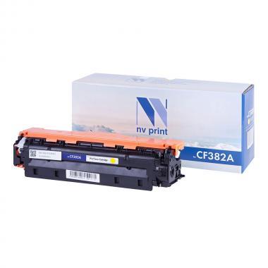 Картридж NVP совместимый NV-CF382A для HP, желтый [NV-CF382AY]
