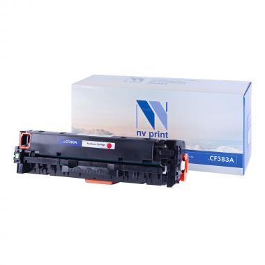 Картридж NVP совместимый NV-CF383A для HP, пурпурный [NV-CF383AM]