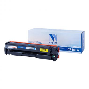 Картридж NVP совместимый NV-CF401A для HP, голубой [NV-CF401AC]