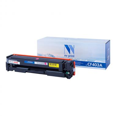 Картридж NVP совместимый NV-CF403A для HP, пурпурный [NV-CF403AM]