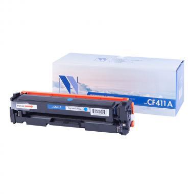 Картридж NVP совместимый NV-CF411A для HP, голубой [NV-CF411AC]