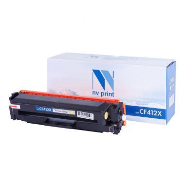 Картридж NVP совместимый NV-CF412X для HP, желтый [NV-CF412XY]