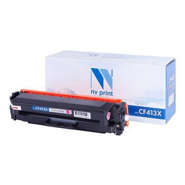 Картридж NVP совместимый NV-CF413X для HP, пурпурный [NV-CF413XM]