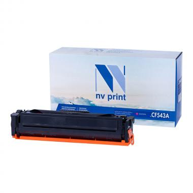 Картридж NVP совместимый NV-CF543A для HP, пурпурный [NV-CF543AM]