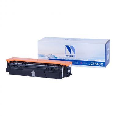 Картридж NVP совместимый NV-CF543X для HP, пурпурный [NV-CF543XM]