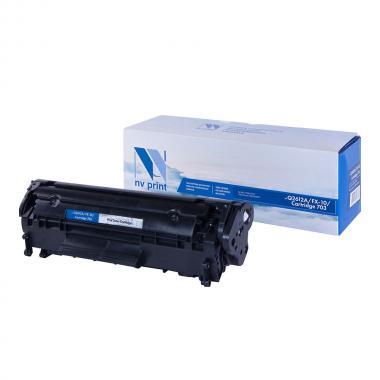 Картридж NVP совместимый NV-Q2612A/NV-FX-10/NV-703 для HP и Canon [NV-Q2612A/FX10/703]