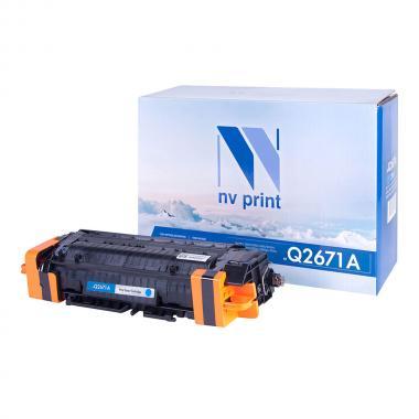 Картридж NVP совместимый NV-Q2671A для HP, голубой [NV-Q2671AC]