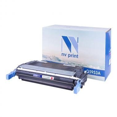 Картридж NVP совместимый NV-Q5953A для HP, пурпурный [NV-Q5953AM]