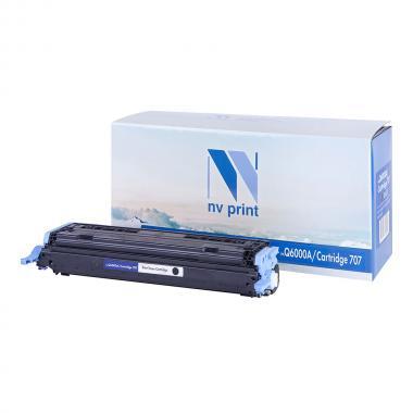 Картридж NVP совместимый NV-Q6000A/NV-707 для HP и Canon, черный [NV-Q6000A/707Bk]