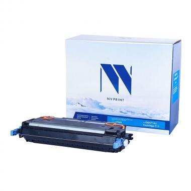 Картридж NVP совместимый NV-Q6471A/NV-711 для HP и Canon, голубой [NV-Q6471A/711C]