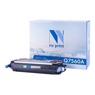 Картридж NVP совместимый NV-Q7560A для HP, черный [NV-Q7560ABk]