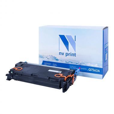 Картридж NVP совместимый NV-Q7563A для HP, пурпурный [NV-Q7563AM]