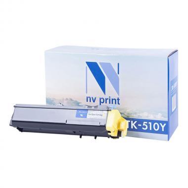 Картридж NVP совместимый NV-TK-510 для Kyocera, желтый [NV-TK510Y]