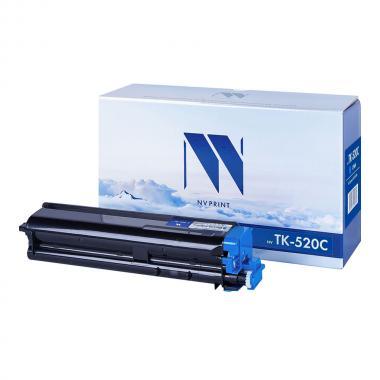 Картридж NVP совместимый NV-TK-520 для Kyocera, голубой [NV-TK520C]