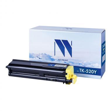 Картридж NVP совместимый NV-TK-520 для Kyocera, желтый [NV-TK520Y]