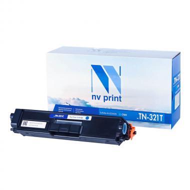 Картридж NVP совместимый NV-TN-321T для Brother, голубой [NV-TN321TC]