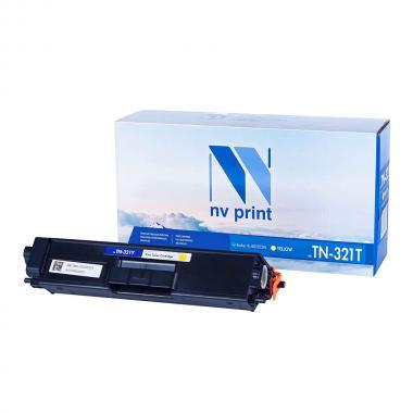Картридж NVP совместимый NV-TN-321T для Brother, желтый [NV-TN321TY]