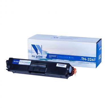 Картридж NVP совместимый NV-TN-326T для Brother, голубой [NV-TN326TC]