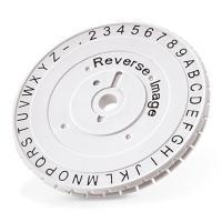 Запасное колесо с латинскими символами для Dymo M1011 [W004365]