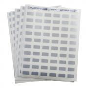 Этикетки Brady LAT-23-773-2.5 на листах LETTER, 25,4 х 12,7 мм, серебристый (2500 шт) [brd29756]