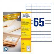 Эко-этикетки Avery Zweckform, 38 x 21,2 мм, белые (100 листов) [LR3666]