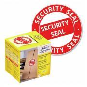 """Этикетки в диспенсере Avery Zweckform охранная пломба """"Security Seal"""" ∅ 38 мм (125 шт) [7312]"""