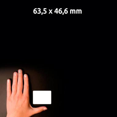 Глянцевые этикетки Avery Zweckform, 63,5 x 46,6 мм (10 листов) [C6080-10]