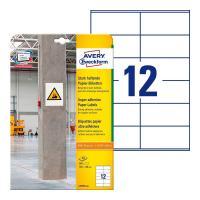 Суперклейкие бумажные этикетки Avery Zweckform, 105 x 48 мм, белые (20 листов) [L7875-20]