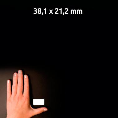 Морозостойкие этикетки Avery Zweckform, 38,1 x 21,2 мм, белые (25 листов) [L7971-25]
