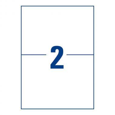 Морозостойкие этикетки Avery Zweckform, 210 x 148 мм, белые (25 листов) [L7974-25]