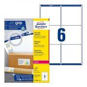 Непросвечивающиеся адресные этикетки Avery Zweckform, 99,1 x 93,1 мм (100 листов) [L7166-100]