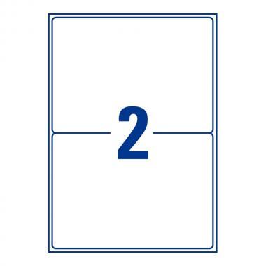 Непросвечивающиеся адресные этикетки Avery Zweckform, 199,6 x 143,5 мм (100 листов) [L7168-100]