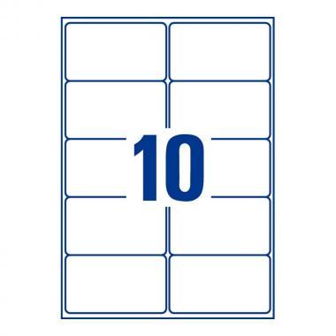Всепогодные адресные этикетки Avery Zweckform, 99,1 x 57 мм (25 листов) [L7992-25]