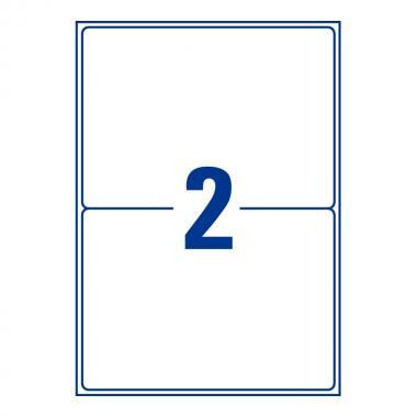 Всепогодные адресные этикетки Avery Zweckform, 199,6 x 143,5 мм (25 листов) [L7996-25]