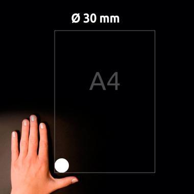 Всепогодные этикетки Avery Zweckform, круглые ∅ 30 мм, белые (20 листов) [L4716-20]