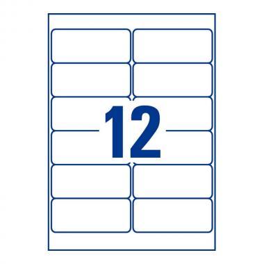 Всепогодные этикетки Avery Zweckform, 99,1 x 42,3 мм, белые (20 листов) [L4776-20]