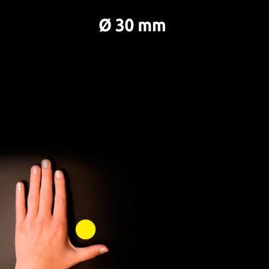 Всепогодные этикетки Avery Zweckform, круглые ∅ 30 мм, желтые (20 листов) [L6128-20]