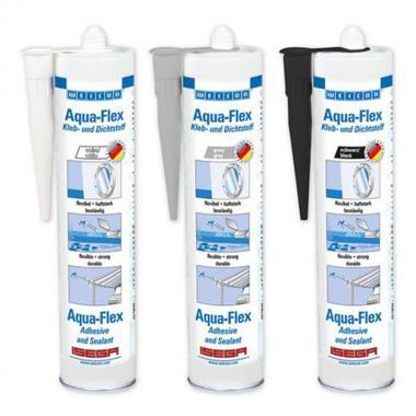 Клей-герметик Weicon Aqua-Flex для влажных поверхностей, белый, 310 мл [wcn13700310]