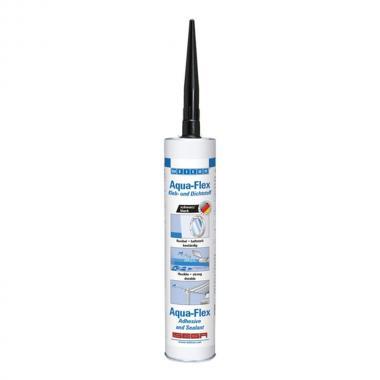 Клей-герметик Weicon Aqua-Flex для влажных поверхностей, черный, 310 мл [wcn13701310]