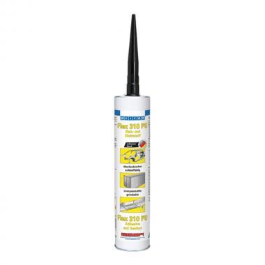 Клей-герметик Weicon Flex 310, черный, 300 мл [wcn13301310]