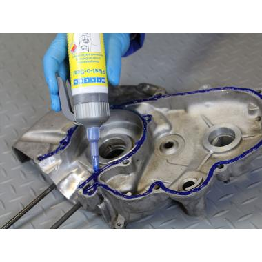 Герметик Weicon Plast-o-Seal, синий, 300 г [wcn30000300]