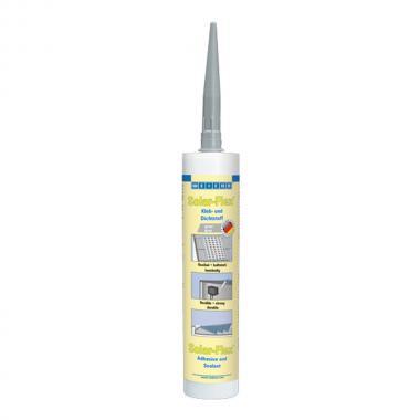 Клей-герметик Weicon Solar-Flex, серый, 290 мл [wcn13752290]