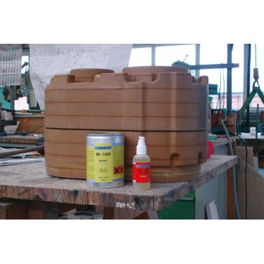 Конструкционный клей Weicon RK-1500 двухкомпонентный, 60 г [wcn10563860]