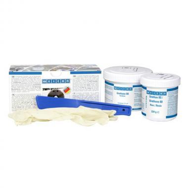Компаунд резиновый Weicon Urethane 80, темно-коричневый, 0.5 кг [wcn10518005]