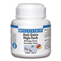 Антикоррозионная паста Weicon Anti-Seize High-Tech, банка с кистью, 120 г [wcn26100012]